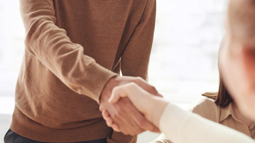developing a business relationship